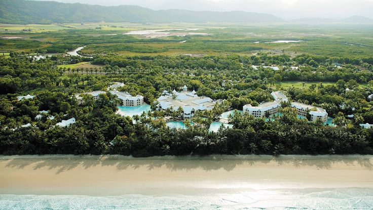 Sheraton Grand Mirage Resort Port Douglas - aerial view