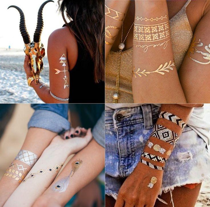 Temporary tattoos: quando il tatuaggio diventa un gioiello! | ClioMakeUp Blog | Bloglovin'