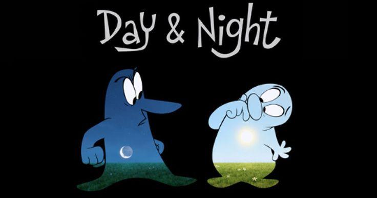 Day & Night (Día y Noche) es un cortometraje animado de Pixar, dirigido por Teddy Newton y producido por Kevin Reher. Este cortometraje es diferente a muchos otros, pues combina la tecnología 2D con la 3D y fué estrenado junto con la película Toy Story 3 en el 2010.