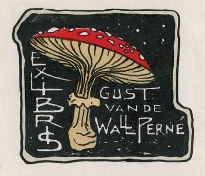 Gustaaf van de Wall Perné (1877-1911): Bookplate 1877 1911, De Wall, Bookplate Greats, Perné 1877 1911, Book Plates Art Endpapers