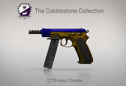 Counter-Strike Global Offensive: The Cobblestone Collection: CZ75-Auto Chalice