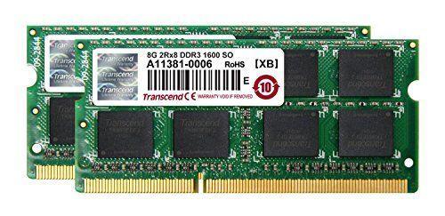 Transcend ノートPC用増設メモリ PC3-12800(DDR3-1600) 16GB KIT(8GB×2) 永久保証 JM1600KSH-16GK トランセンド・ジャパン http://www.amazon.co.jp/dp/B00AM4KTZA/ref=cm_sw_r_pi_dp_.gFCub1J0PA09