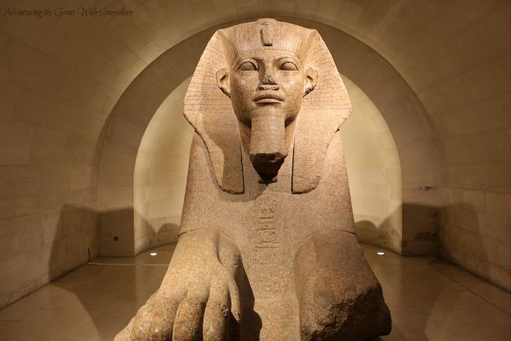 Image result for the sphinx at the louvre