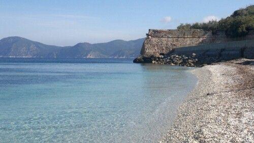 "Spiaggia ""le ghiaie"", Portoferraio, italy."