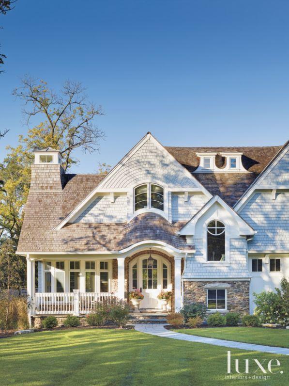 131 best shingle style images on pinterest cedar shakes for Luxury shingle style house plans
