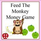 Feed the Monkey money game- American and Australian versions