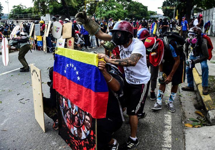 Más de 350 sindicatos se suman al paro general de la oposición contra Maduro - La Hora