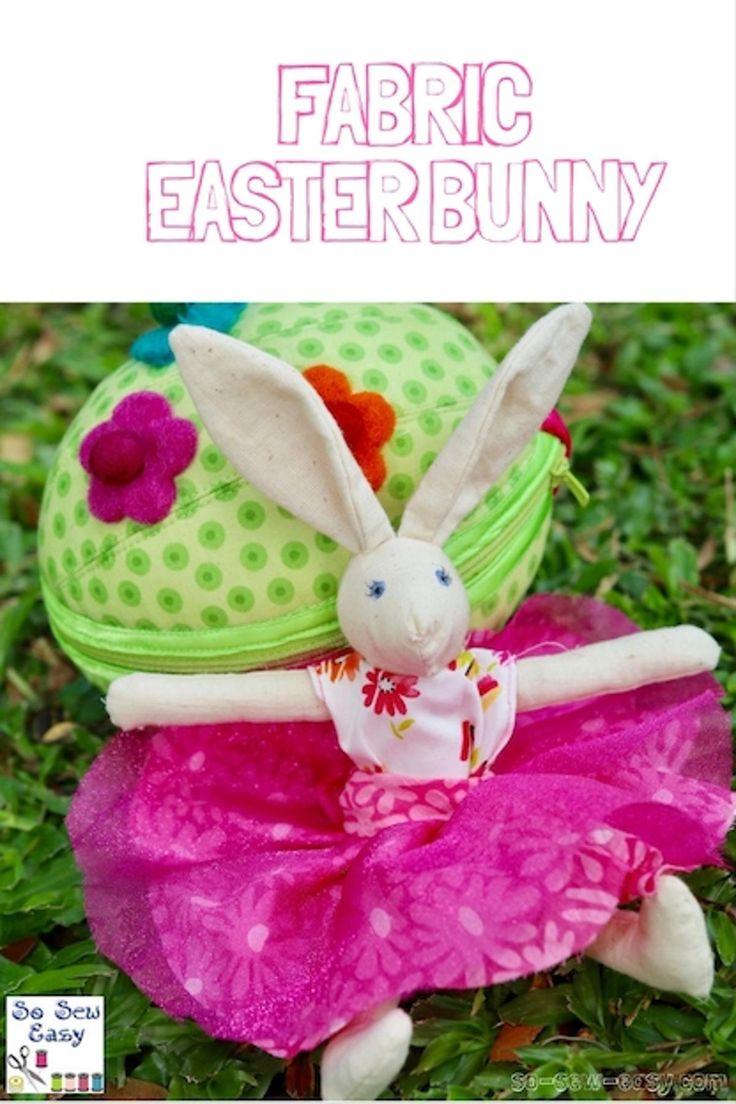 Daisy the Fabric Easter Bunny | Craftsy