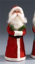 Needle felted Christmas Santa tutorial