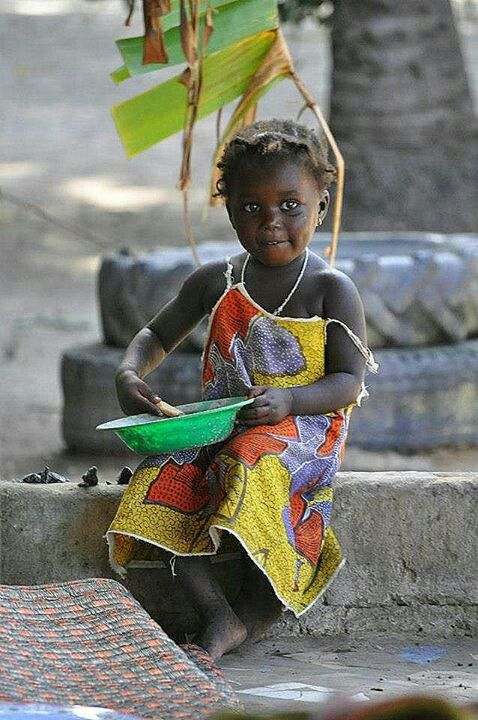 "Gambia.  She seems to have a bit of ""cheeky""...."