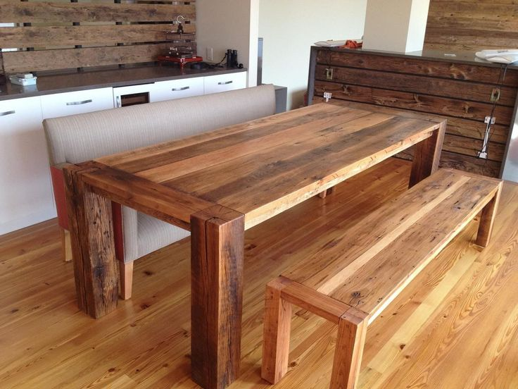 17 best ideas about dining table with bench on pinterest table with bench kitchen table with - Exciting look kitchen table bench plans ...