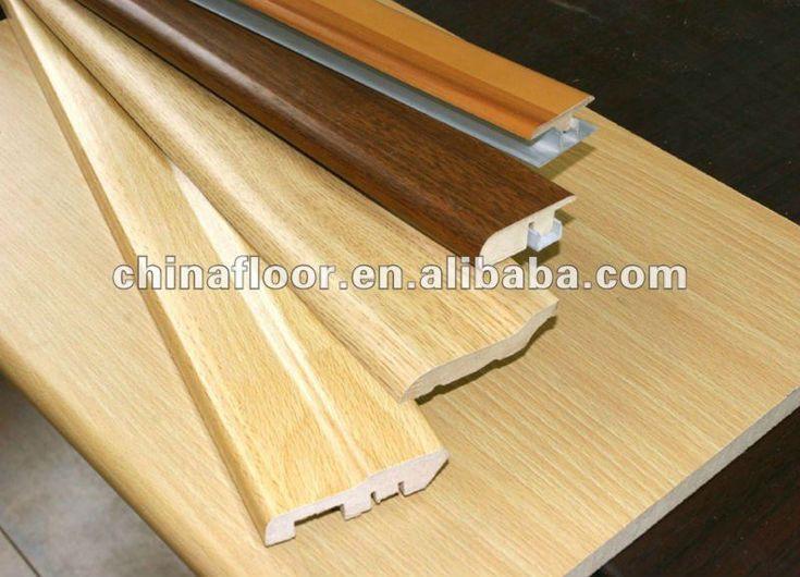 MDF skirting board for laminate flooring $0.5~$1.5