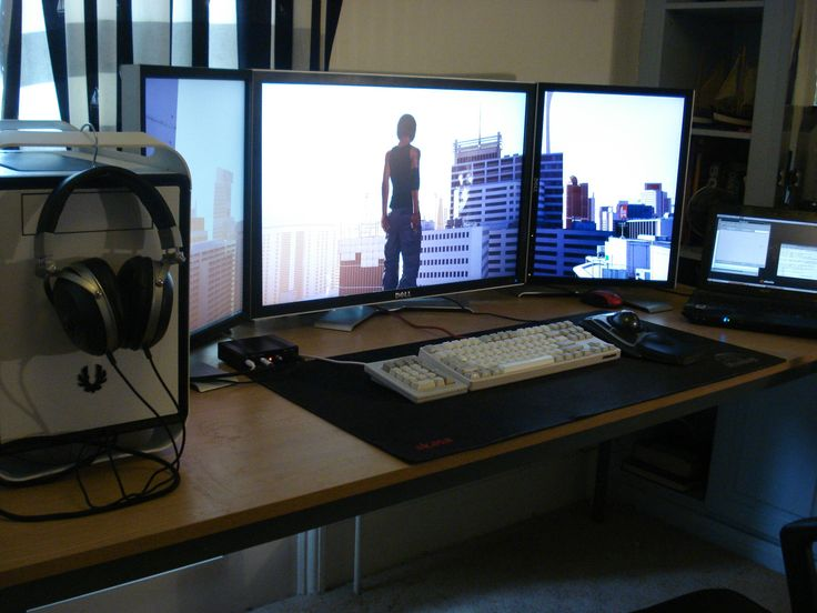 Still A 3 Monitor Setup Just Make Sure The Vertical