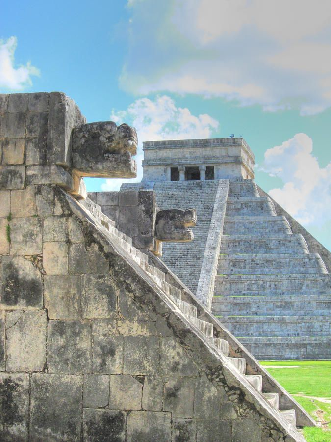 Chichen Itza Pyramid in #Mexico