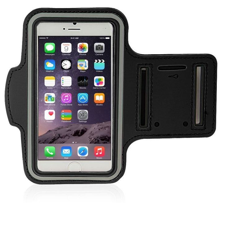"""Sports Armband, Mopo Armband for iPhone 6 plus (5.5""""), Running & Exercise Gym Sports Armband, Waterproof+ Sweat proof + Key Holder (black). Designed specifically for Apple iPhone 6s Plus / iPhone 6 Plus, Lightweight armband keeps your iPhone secure and protected. Waterproof and sweat-proof to better protect your mobile phone, make you feel more comfortable during exercise. Lightweight soft neoprene material which is molded to twist and bend but will not stretch out of shape. Adjustable..."""
