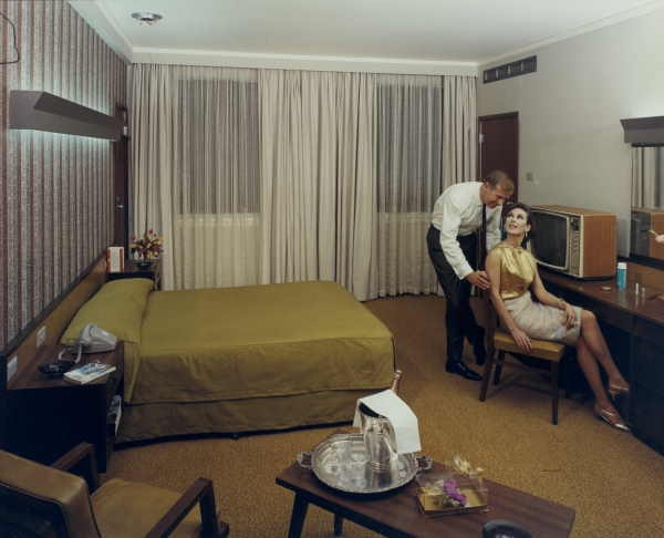 Room at the Savoy Plaza Hotel, Spencer Street, c. 1965