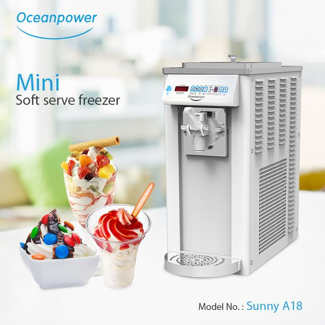 Source Ice Cream Maker Machine Mini Ice Cream Maker Portable Ice