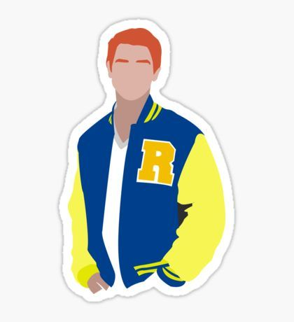 Riverdale - Archie Sticker