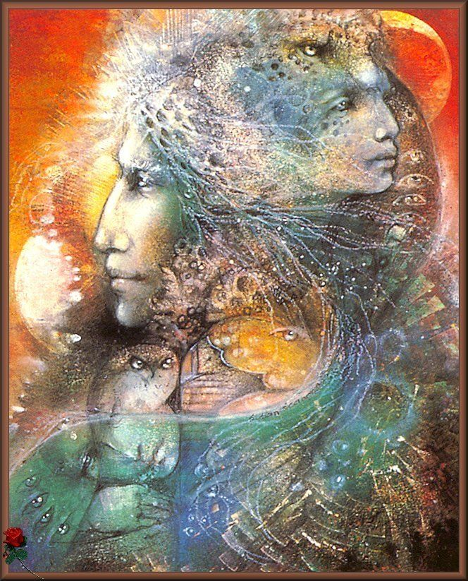 Art by Susan Seddon Boulet - fantasy-art Photo