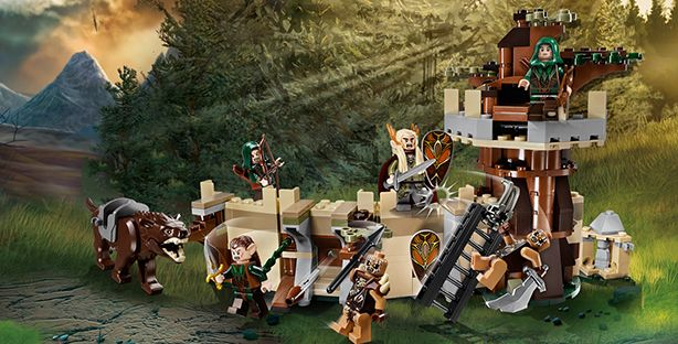 LEGO.com The Hobbit™ Products - Mirkwood™ Elf Army!!!