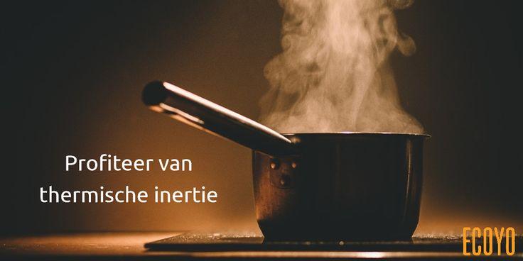 #ECOYO's tip van de dag: Profiteer van thermische inertie  Als u een elektrisch fornuis gebruikt, schakel dan de kookplaat enkele minuten vóór het einde van de kooktijd uit. Dankzij de thermische inertie (de plaat blijft nog enkele minuten heet) kan het eten nog enkele minuten verder sudderen zonder energie te verbruiken #bespaarEnergie #SaveThePlanet #TipVandeDag #BeSustnbl
