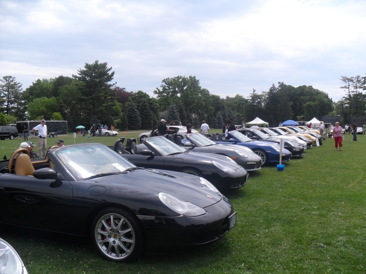 Porsche Club Meeting Event at Appleby College Oakville Ontario - July 24, 2012