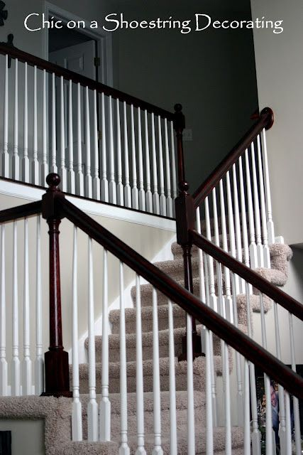 How To Stain Stair Railings And Banisters