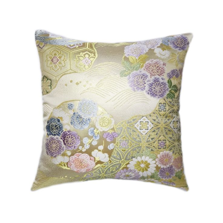 "Kimono""Obi""-covered Cushion"