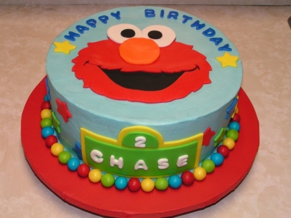 great Elmo cake