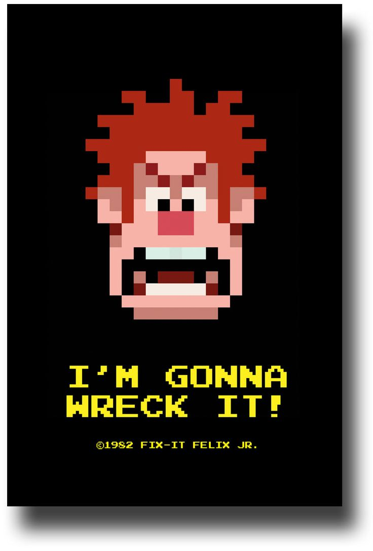 Wreck It Ralph Poster - IMGWI avalable at http://concertposter.org/wreck-it-ralph-poster-movie-promo-flyer-11-x-17-green-lake/ #WreckItRalph $9.84