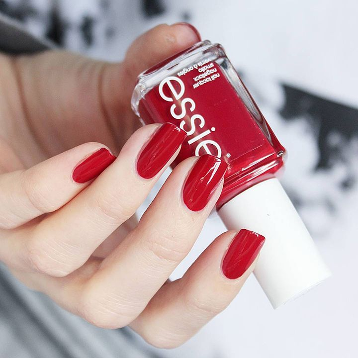 Best Bright Red Nail Polish: Best 25+ Deep Red Nails Ideas On Pinterest