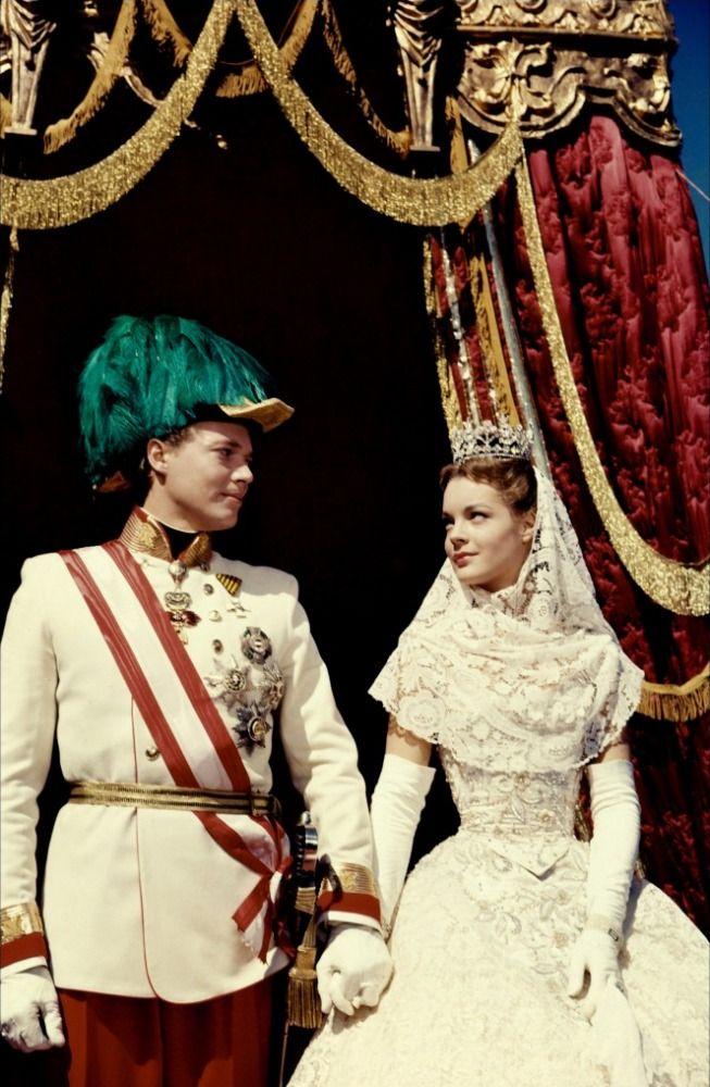 "Perfect love ~ Romy Schneider and Karlheinz Böhm starring as Empress Elisabeth of Austria, known as ""Sissi"" and Emperor Franz Joseph I of Austria"