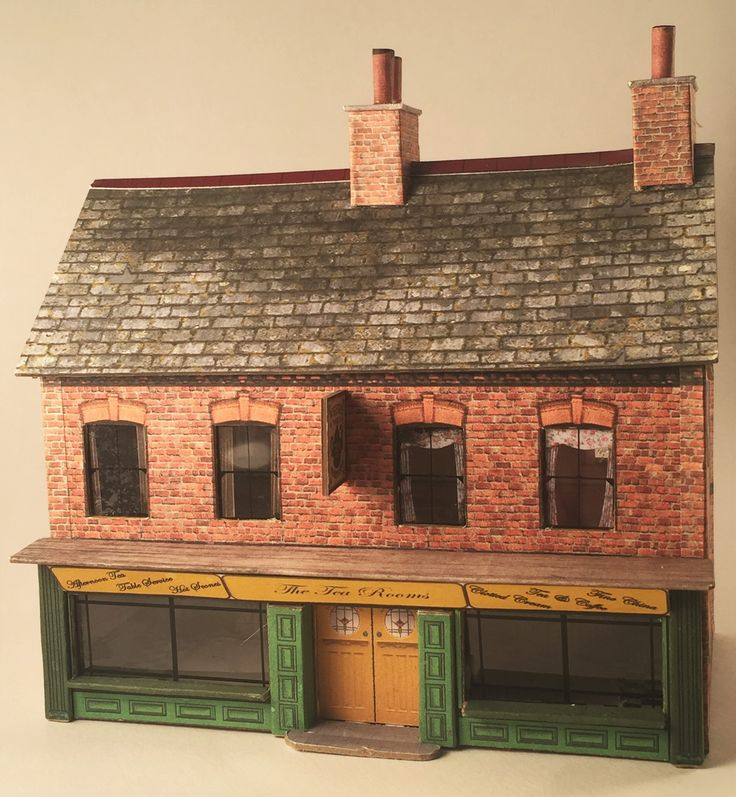 The very latest OO Gauge kit from www.3dk.ca. The kit is easy to assemble and easy to download from the website and is as detailed inside as it is outside.