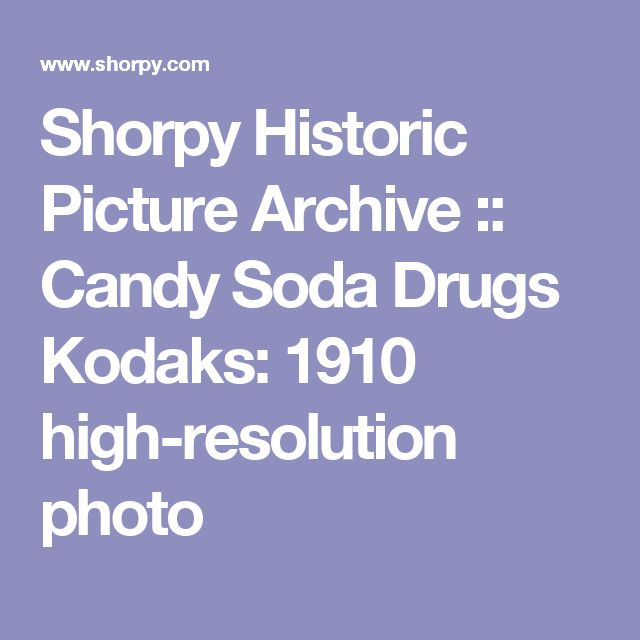 Shorpy Historic Picture Archive :: Candy Soda Drugs Kodaks: 1910 high-resolution photo