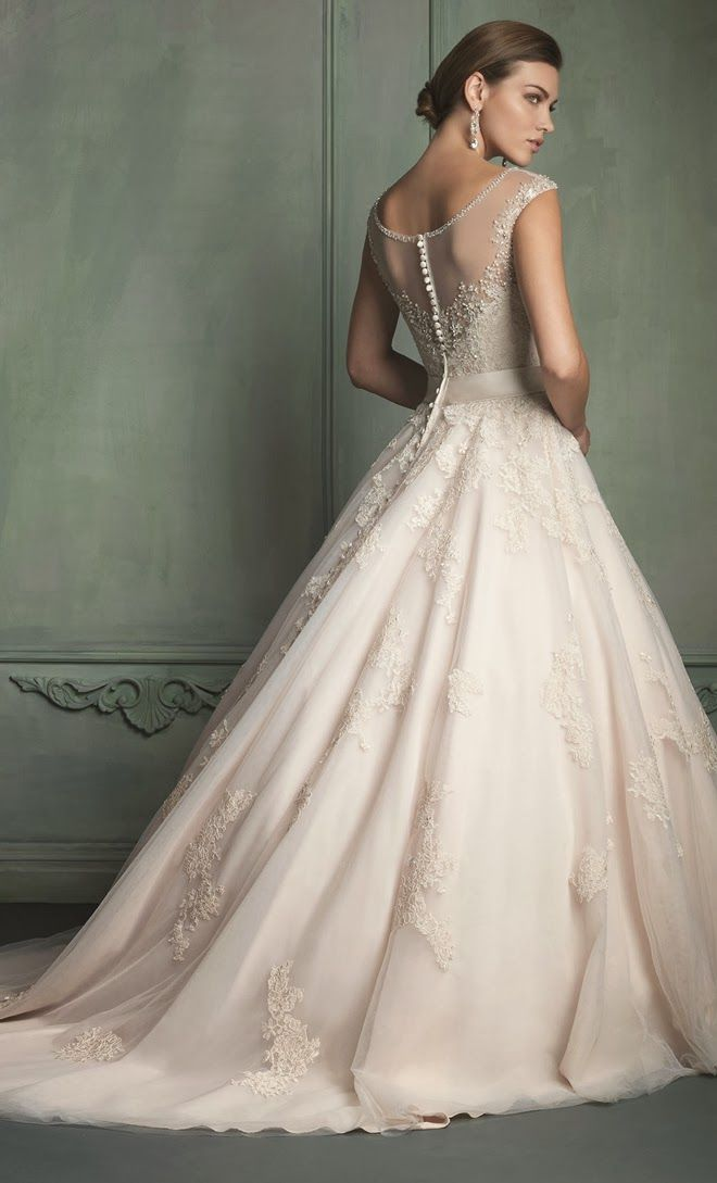 Allure Bridals Spring 2014 - Part 2 - Belle the Magazine . The Wedding Blog For The Sophisticated Bride