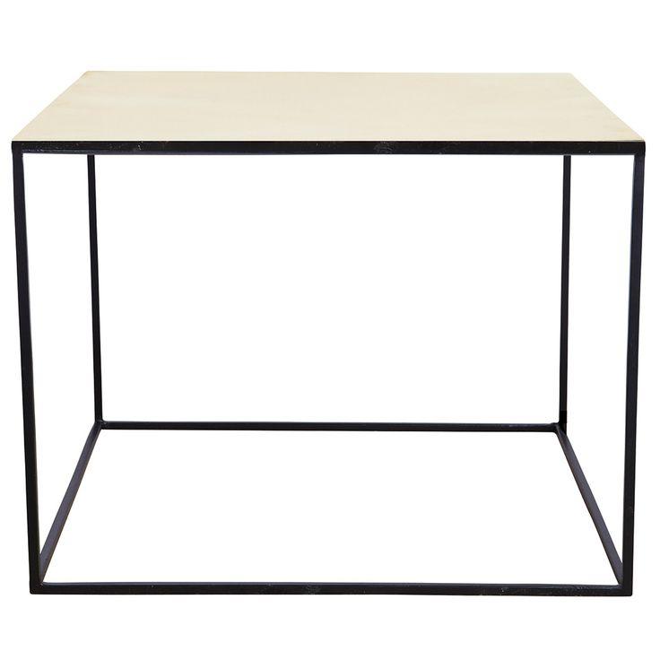 Cube bord, mässing i gruppen Möbler / Bord / Soffbord hos RUM21.se (115289)