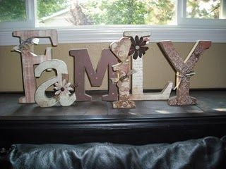 Family Wood Craft