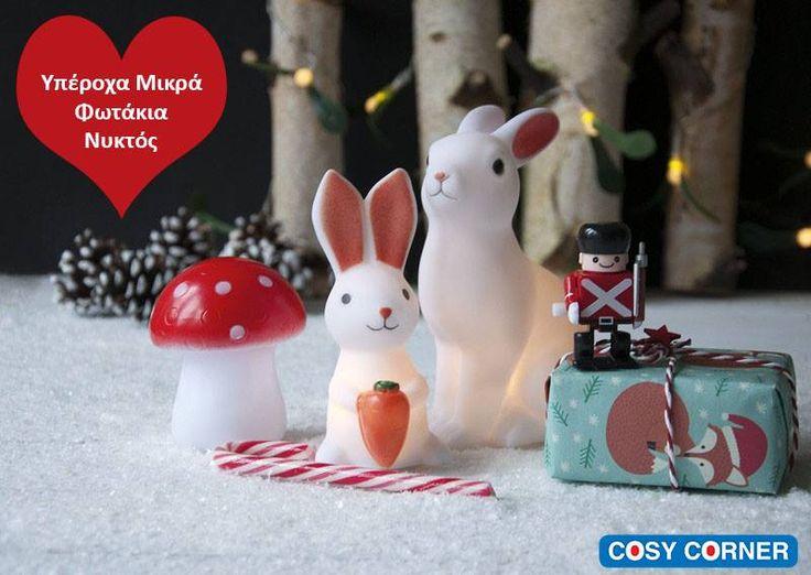 Led Φωτάκια Νυκτός σε πολλά σχέδια. Ιδανικά για γιορτινά δώρα! http://goo.gl/GwxBz0