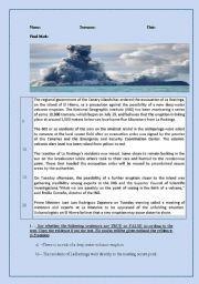 7 best volcano worksheets images on Pinterest | Volcanoes, Word ...