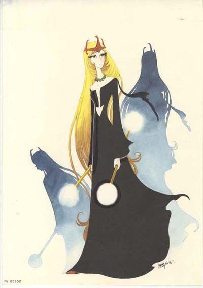 La Andromeda Promethium Cel Gallery - ♡1000年女王 複製原画 Queen Millennia Fukusei Genga