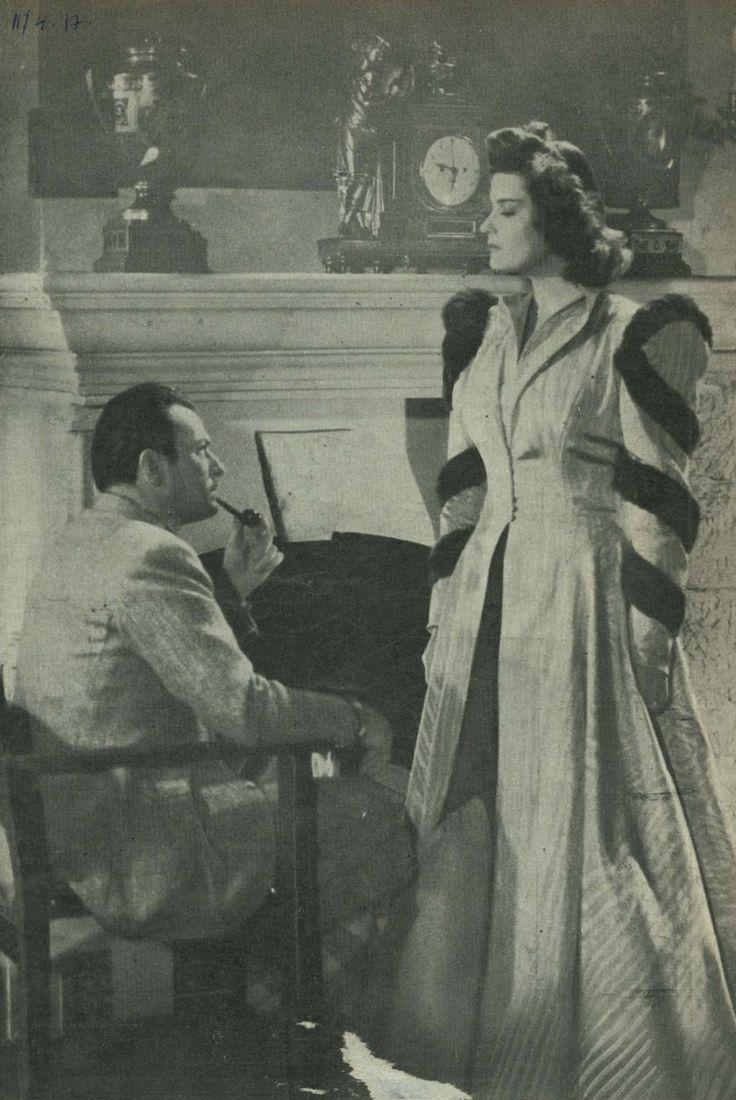 Jávor Pál és Karády Katalin az Ópiumkeringő c. filmben; 1943. március 3.