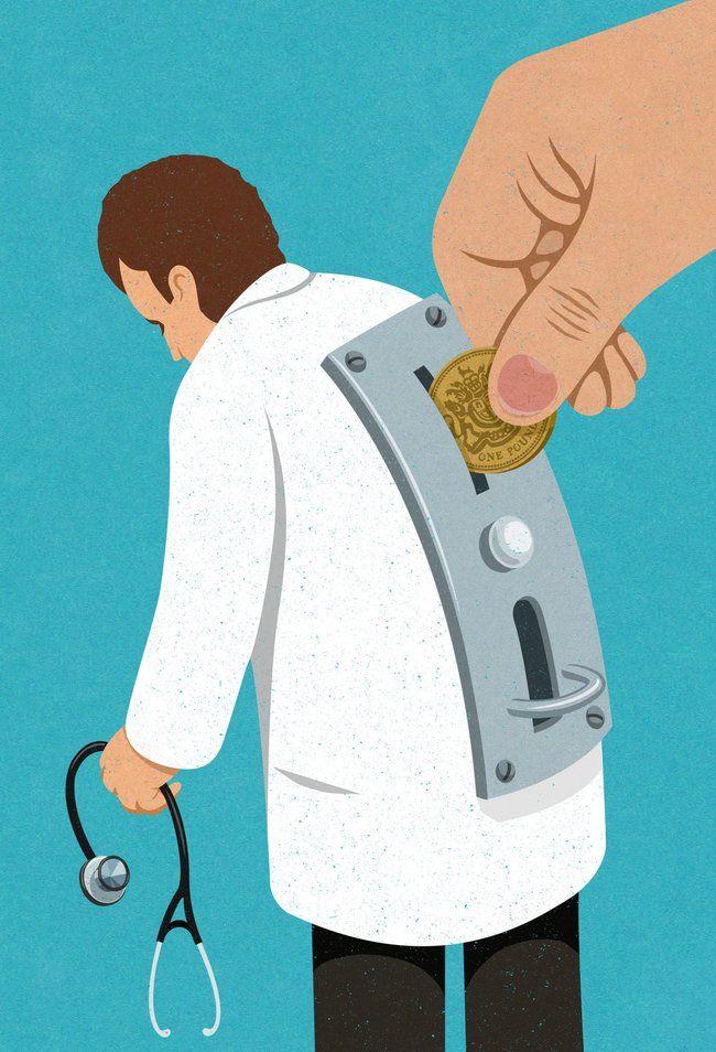 La sanidad ya no es una vocación es un negocio.