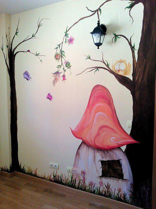 mural-casita-del-bosque