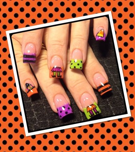 Halloween witches by Oli123 - Nail Art Gallery nailartgallery.nailsmag.com by Nails Magazine www.nailsmag.com #nailart