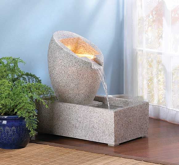 47 best indoor fountains waterfalls images on pinterest for Do it yourself water features