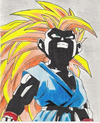 dragon ball z   SON GOKU DRAWING