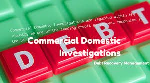 commercial domestic investigations review work adaptably, giving obligation gathering administrations to each size of business. We'll work with your credit control group, on the off chance that you have one, and our point is dependably to accomplish full obligation recuperation with least disturbance to you.