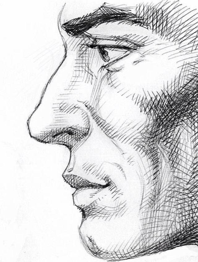 Pencil Portrait Mastery - Profil à la graphite - Discover The Secrets Of Drawing Realistic Pencil Portraits
