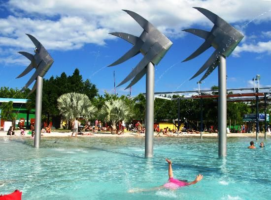 Cairns public Lagoon Pool, Cairns #Australia