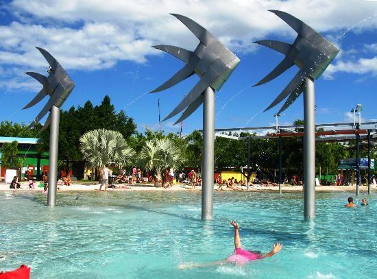 Cairns public Lagoon Pool, Cairns #Australia